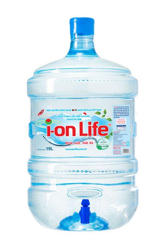 Bình ion life 19L